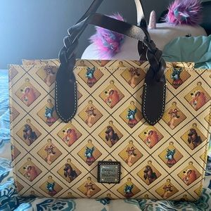 Disney Dooney and Bourke Lady and the Tramp
